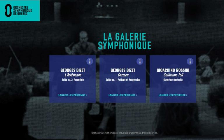 La Galerie symphonique : une nouvelle plateforme educative sur la musique symphonique en ligne