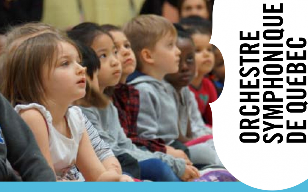 La musique symphonique en cadeau pour 430 enfants!