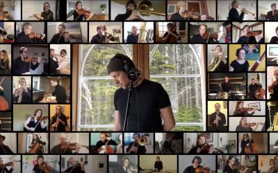Patrice Michaud et l'Orchestre symphonique de Québec s'offrent une douce folie printanière